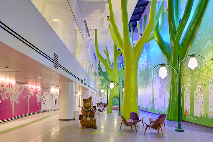 Magic Forest & Aviary at Nationwide Children's Hospital